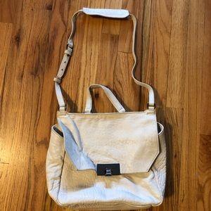 Kooba Ivory Leather  purse satchel crossbody